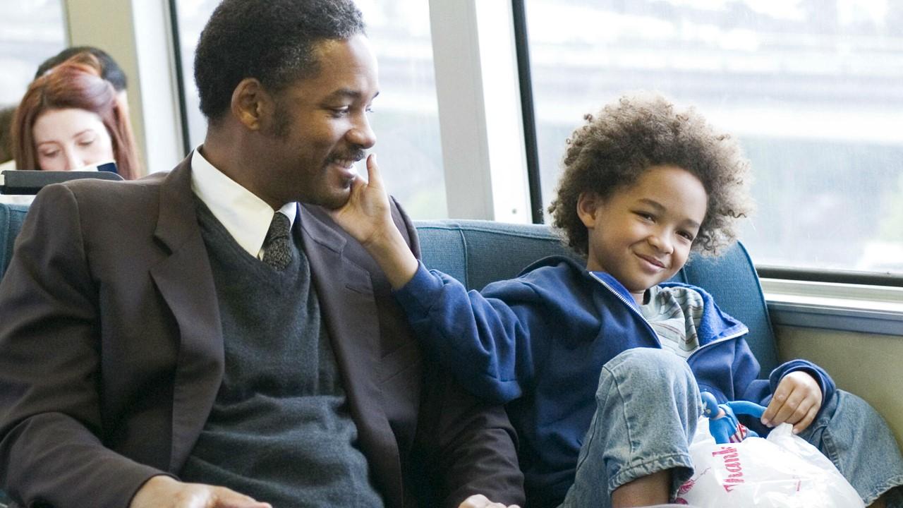 Власть отца над сыном_Уилл СМитт и сын в фильме в погоне за счастьем