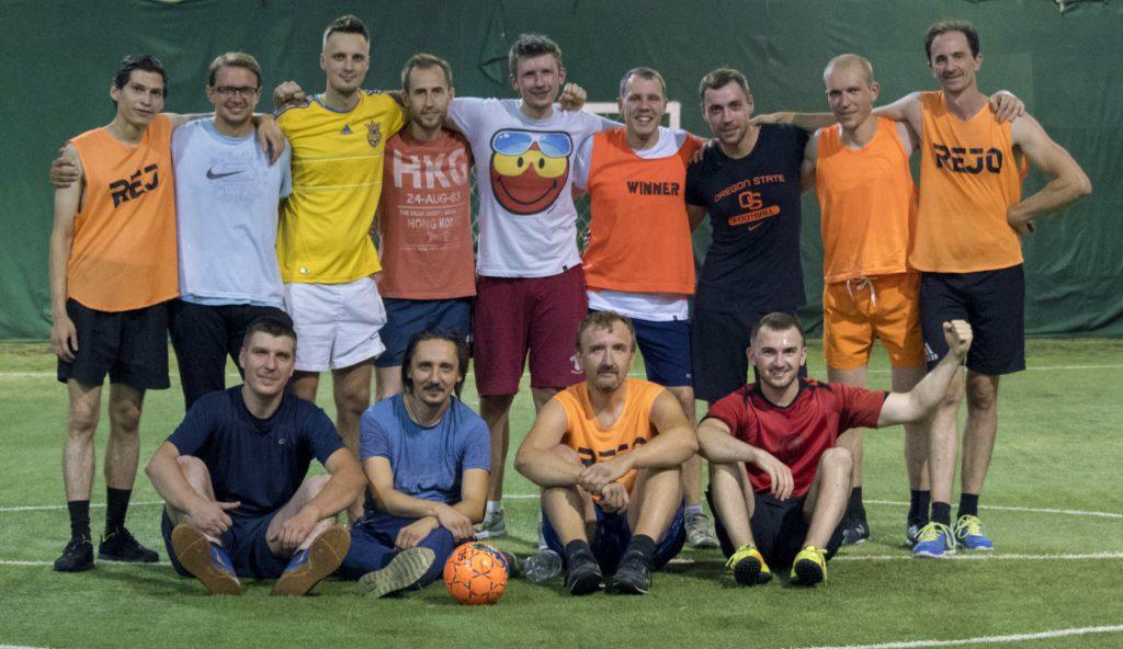 Мужской курс Фундамент - футбол