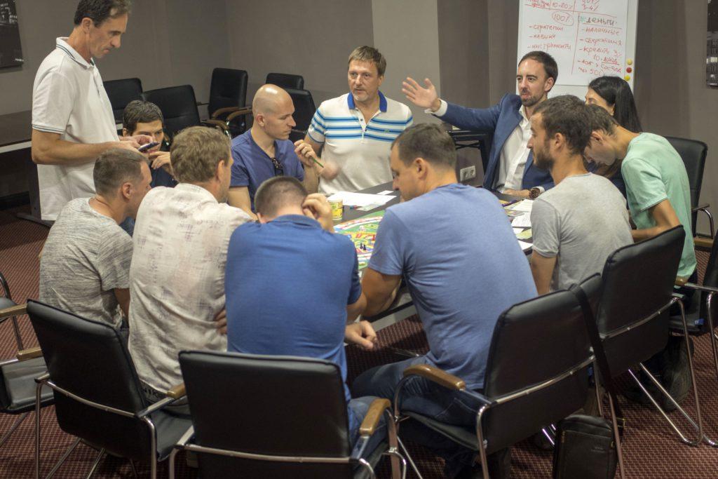 Мужской курс Фундамент_бизнес игра в Киеве