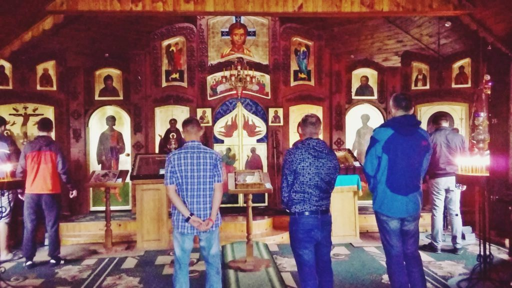 Мужской курс Фундамент_внутри храма