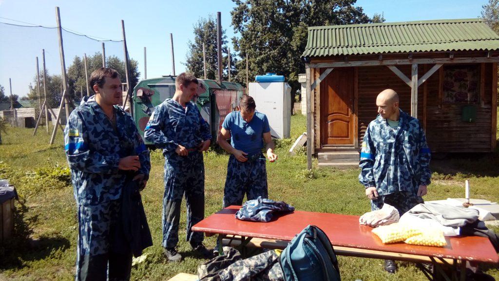Мужской курс Фундамент_объединение в команды пейнтбол