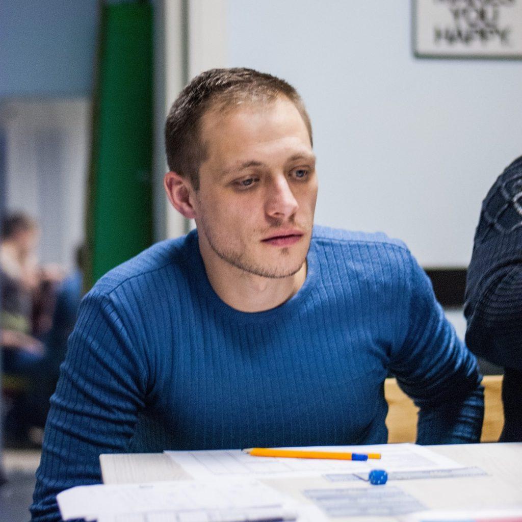 Роман Перепелица, менеджер проекта Фундамент