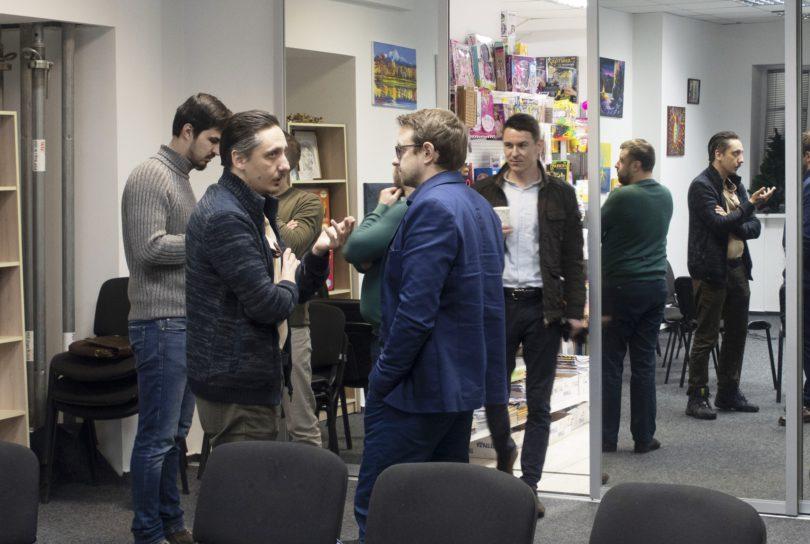 Дискуссия над фильмом Альфа, мужской клуб Фундамент